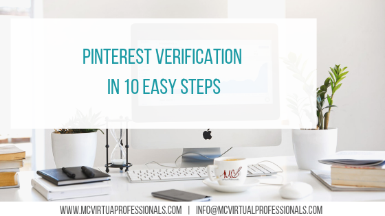 pinterest verification